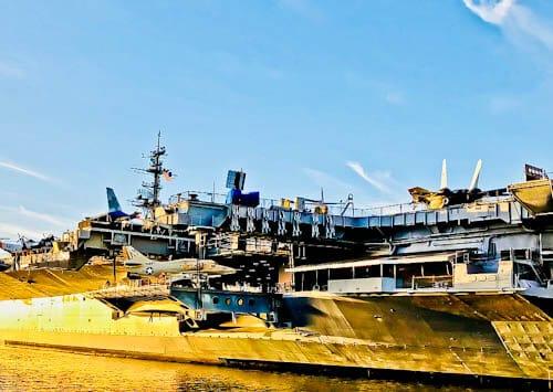 San Diego Landmarks - USS Midway Museum