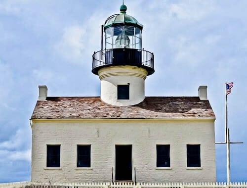 San Diego Landmarks - Old Point Loma Lighthouse