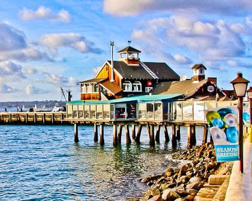 San Diego Landmarks - Seaport Village