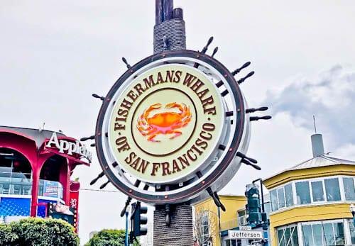 San Francisco Landmarks - Fisherman's Wharf