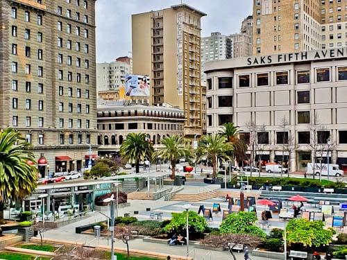 San Francisco Landmarks - Union Square