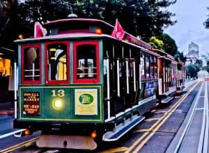 San Francisco Landmarks - Cable Cars