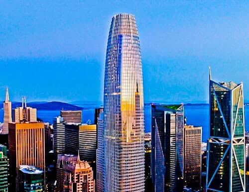 San Francisco Landmarks - Salesforce Tower