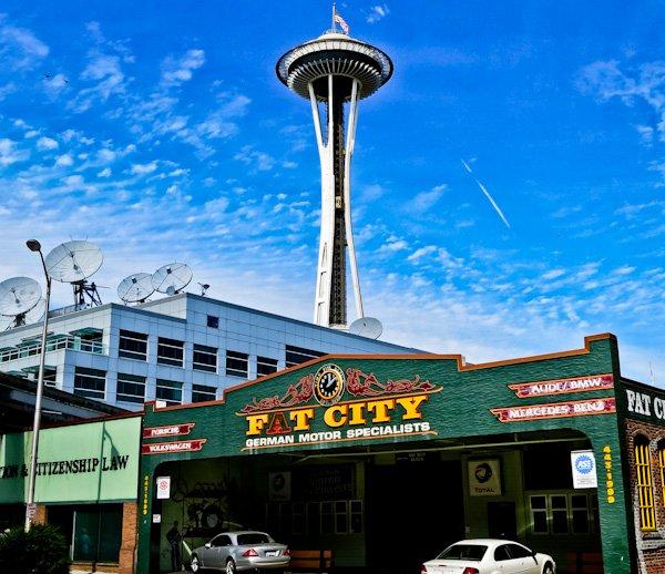 Space Needle - Seattle Landmarks