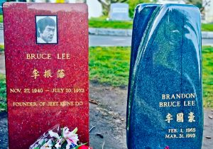 Bruce Lee and Brandon Lee Grave Sites, Seattle