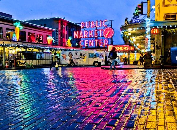 Pike Place Market - Seattle Landmarks