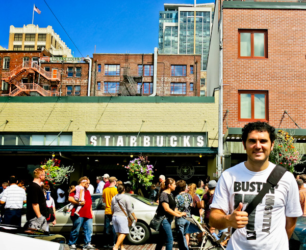 First Starbucks in Seattle - Pike Place Market