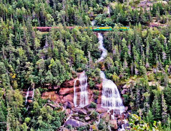 Pitchfork Falls, Skagway Alaska