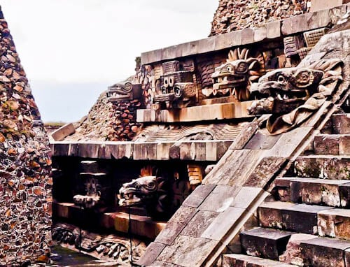 Day Trip to Teotihuacan from Mexico City - Temple of Feathered Serpent