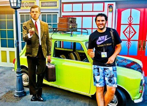 Los Angeles Landmarks - Mr Bean, Universal Studios, Hollywood