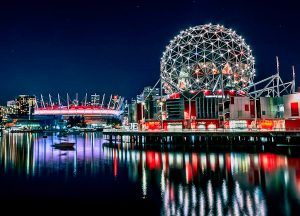 Science World and BC Place Stadium - Vancouver Landmarks