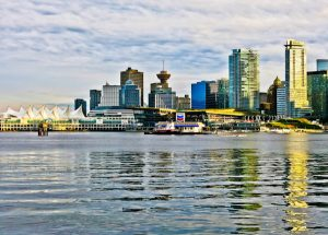 Panoramic Vancouver View from Stanley Park