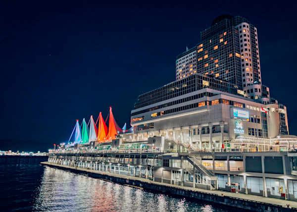 Canada Place and Cruise Port, Vancouver,
