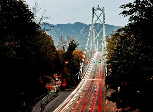 Lions Gate Bridge, Vancouver Landmarks