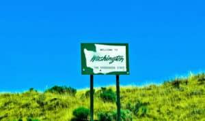 Washington State Sign, Washington, US