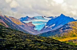 Glacier, White Pass, Yukon, Canada