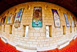 Gallery at the Basilica of the Annunciation