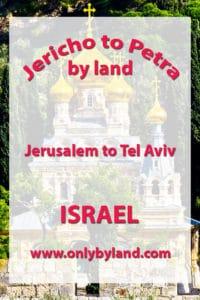 Jerusalem to Tel Aviv