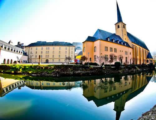 Things to do in Luxembourg - Neumunster Abbey