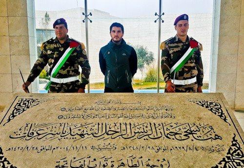 Things to do in Ramallah Palestine - Tomb of Yasser Arafat