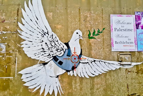Things to do in Bethlehem Palestine, Banksy Art