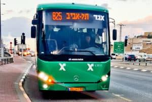 Bus from Tel Aviv to Nazareth