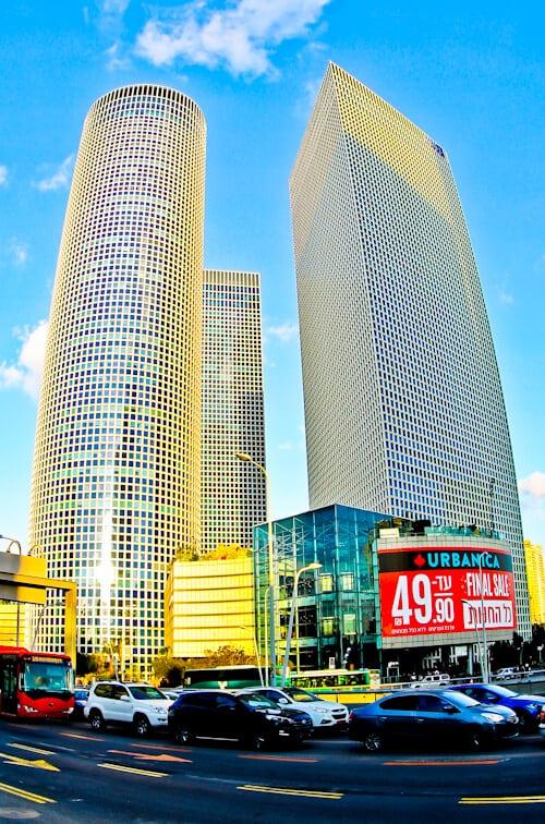 Things to do in Tel Aviv - Israel - Azrieli Building
