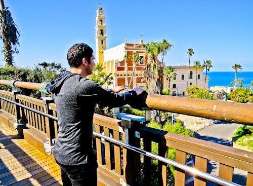 Things to do in Tel Aviv - Israel - The Wishing Bridge of Jaffa,