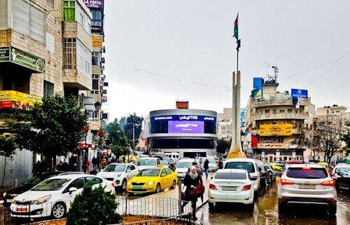 Things to do in Ramallah Palestine - Al-Manara Square, Times Square