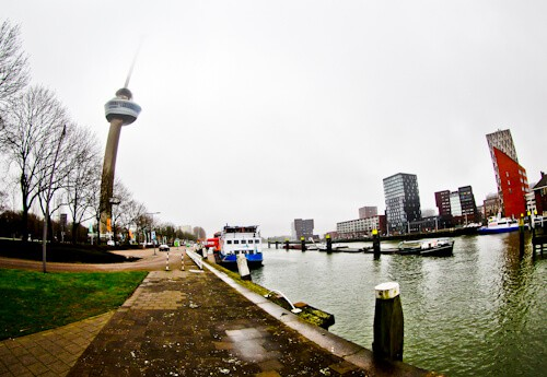 Things to do in Rotterdam - Euromast