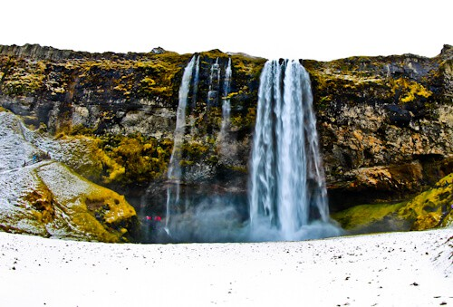 Hike Behind Seljalandsfoss Waterfall, Icelandic Beauty