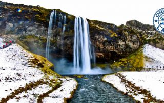 Seljalandsfoss Waterfall - Icelandic Beauty