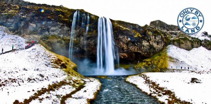 Seljalandsfoss Waterfall - Icelandic Beauty