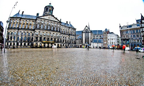 Royal Palace, Dam Square, Amsterdam
