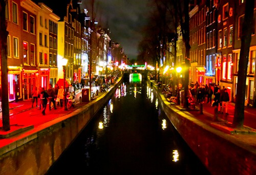Amsterdam Photography - Red Light District