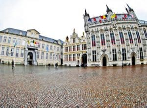 Things to do in Bruges - Burg Square