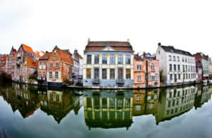The streets of Ghent, Belgium