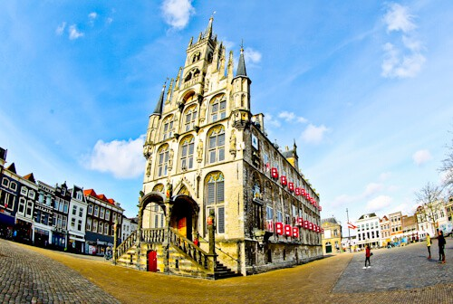Day trip to Gouda - Town Hall