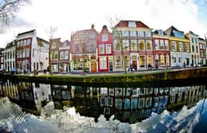 The streets of Gouda