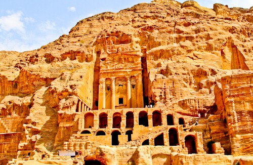 Things to do in Petra on a Petra Day Trip, Jordan - Royal Tombs