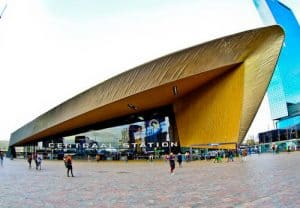 Things to do in Rotterdam - Train Station