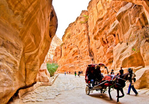 Things to do in Petra on a Petra Day Trip, Jordan - The Siq