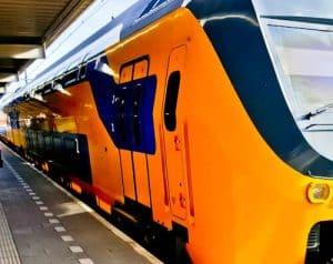 Train from Gouda to Utrecht