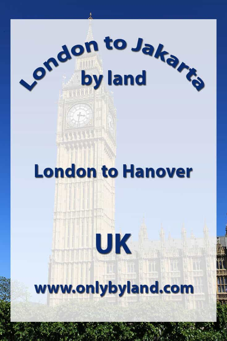London to Hanover