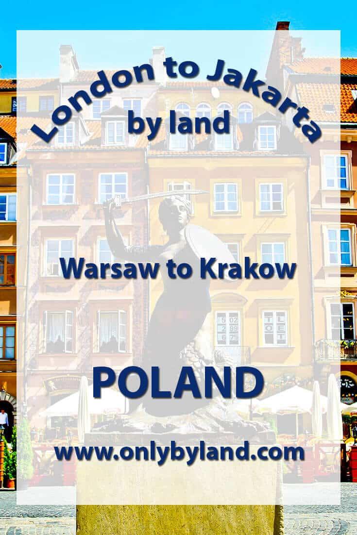 Warsaw to Krakow