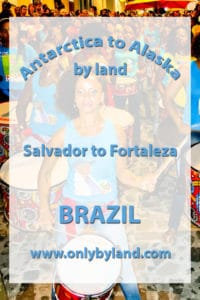 Salvador to Fortaleza