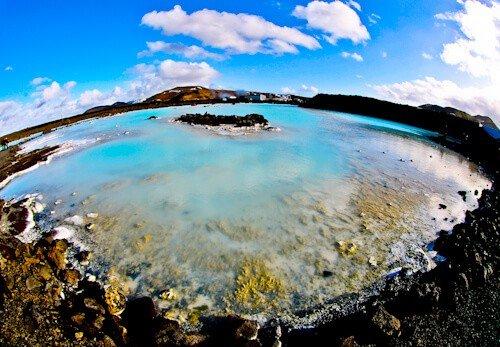Blue Lagoon Lake Iceland - Reykjanes Peninsula