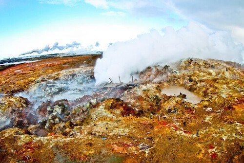 Gunnuhver Hot Springs, Reykjanes Peninsula - Iceland