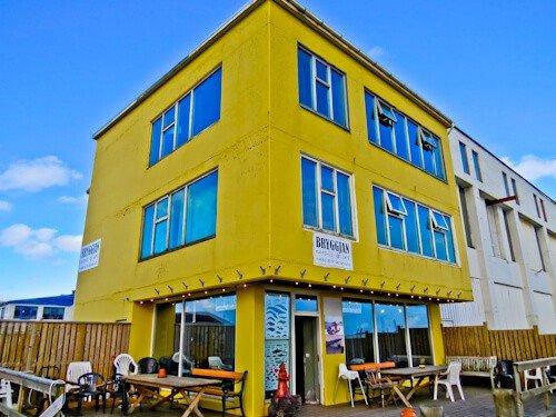 Bryggjan Restaurant, Grindavik, Reykjanes Peninsula - Iceland