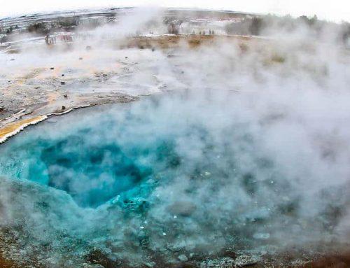 Visiting Geysir Iceland + Blesi and Konungshver Geyser